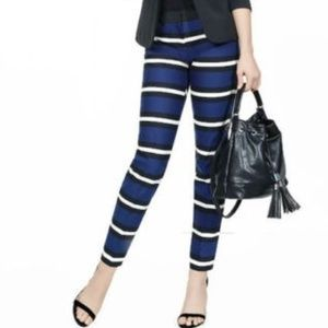 New Express Editor Ankle Dress Pants 0R Blue :166